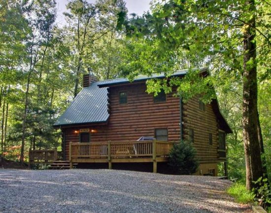 Just Aska Bear Cabin Rental Near Hiking and Biking Trails in North Georgia