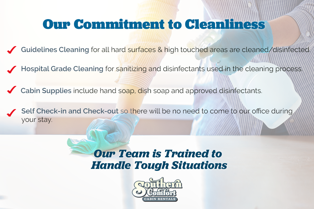 Southern Comfort Highest Standard Cleaning Policy