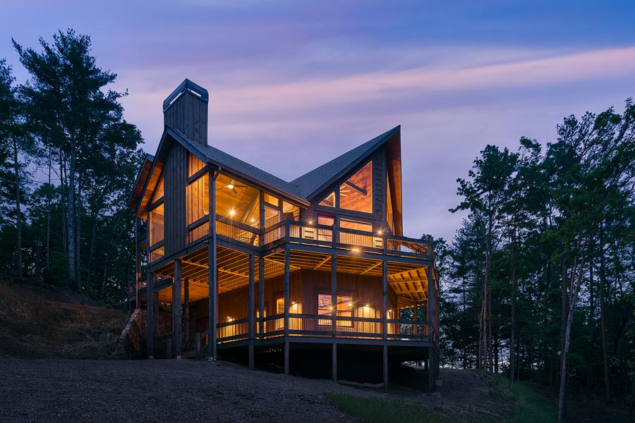 Blue Ridge vacation cabin