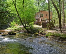 Creek or River Cabin Rentals